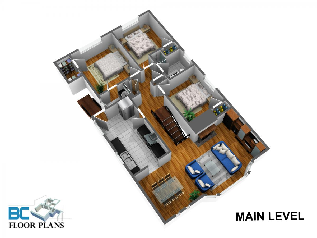 Main-level- at 2052 W Keith Road, Pemberton Heights, North Vancouver